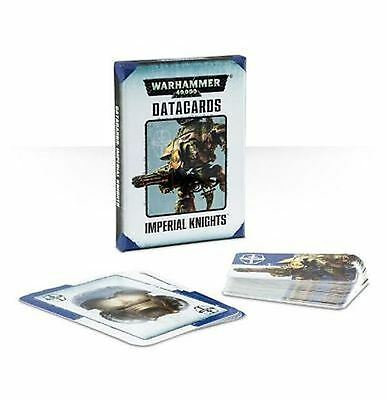 Warhammer 40K New Imperial Knight Datacards (Sealed in box)