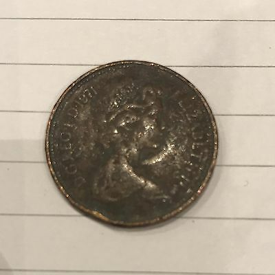 Coin 2 New Pence very rare collectable 1971 ANTIQUE british 2p (2 pence)