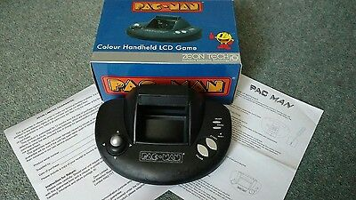 Pacman Colour Handheld LCD Game Retro Rare