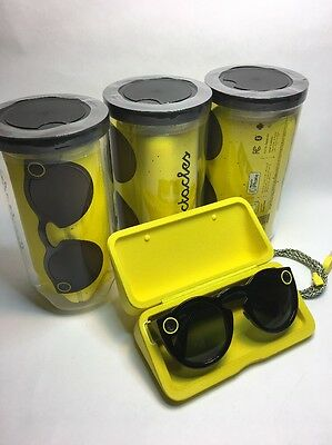 New Snap Snapchat Spectacles Sunglasses - Black