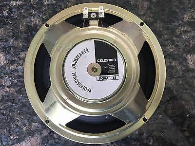 Celestion PG8A -15watts 8 Ohm guitar speaker