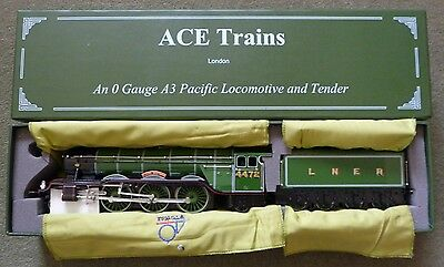 ACE Trains O Gauge Flying Scotsman A3 Pacific Locomotive and Tender