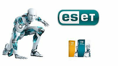 Eset Smart Security 9/10 or NOD32 Nearly  2Year 3Devices *INSTANT DELIVERY*