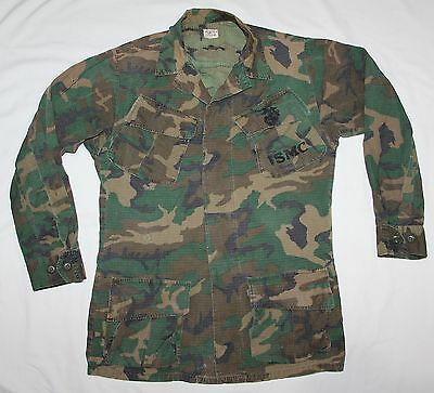 Original Vietnam Usmc Erdl Camo Jungle Jacket, 1969 Dated