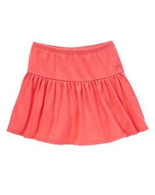 NWT Gymboree Girls Bright and Beachy Skort Fruity Fuscia Size 4 5 6 7 8 & 10