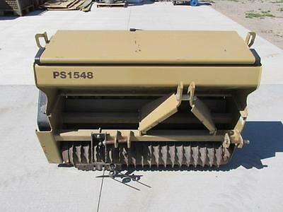 "48"" Land Pride PS1548 3 Point Tractor Hitch Grass Wheat Clover Seeder Food Plot"