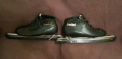 Vintage style mens Freetime speed ice skates size 10