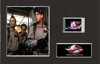 Ghostbusters replica 35mm Mounted Film Cell Display 6 x 4