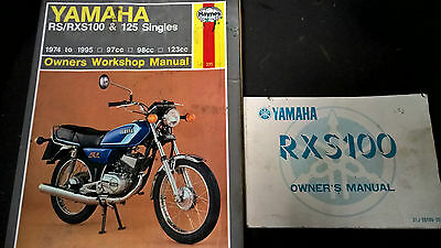Yamaha Rxs100 Owners Manual 1983 & Haynes Manual