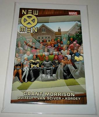 NEW X-MEN by Grant Morrison Book 3 Graphic Novel  2011  NM  Collects # 122 - 126
