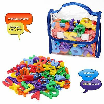 Magnetic Letters Numbers Premium Quality ABC 123 Colorful Foam Alphabet Magnets