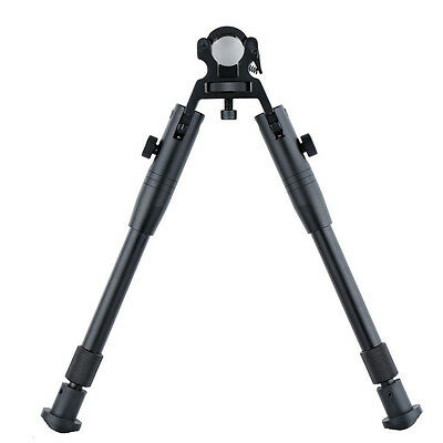 "8""-10"" Barrel Adjustable Tactical Air Rifle Bipod for Hunting Shooting Gun  W3S7"