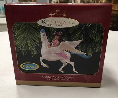 Disney Megara Meg and Pegasus Hercules Hallmark Keepsake Ornament New in Box