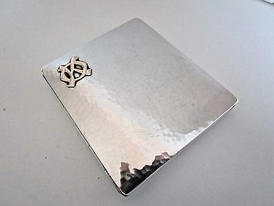 Danish Silver Cigarette Case..830 Grade..Fritz S.Heimburger..1923..