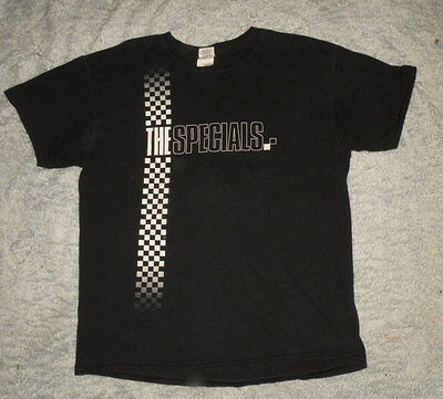 THE SPECIALS 2013 tour T Shirt size L concert T-SHIRT ska RARE