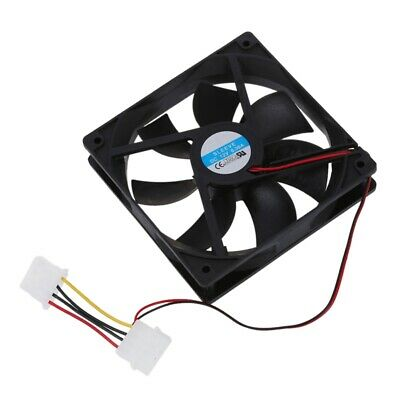 Computer PC Case 4 Pin Cool Cooler Cooling Fan 120mm J1V4
