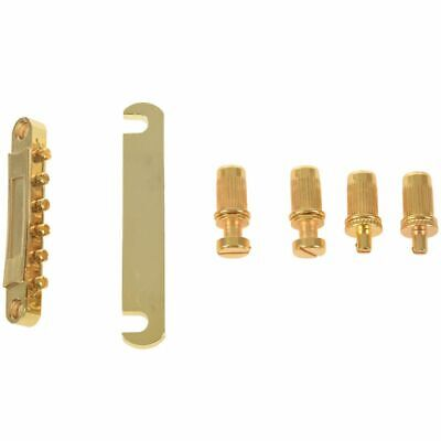 Gold Abr-1 Bridge Tune-o-matic E Tailpiece for Gibson Les Paul and Guitar K3D7