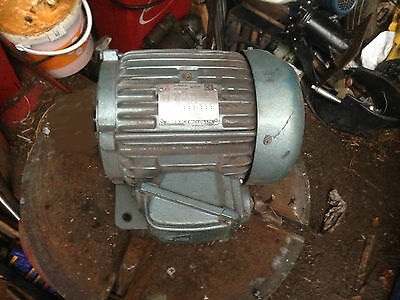 Induction Motor 4Hp 3 Phase 4 Pole 1430 Rpm