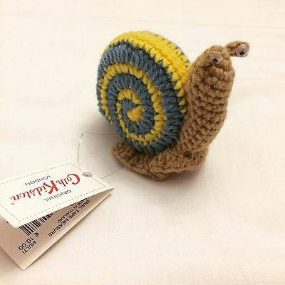 BNWT Cath Kidston Crochet Snail Tape Measure Retro Vintage Craft Kitsch Sewing