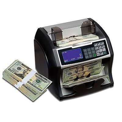Currency Counting Machine Bill Counter Bank Money Sorter Cash Portable Automatic