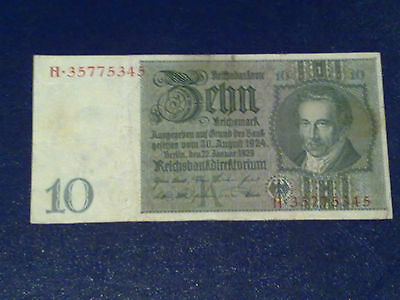 Germany - 10 Mark 1929 -  Very Fine/3/