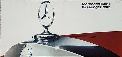 Mercedes range Brochure- Includes 230SL Pagoda / 300SE Coupe & Convertible / 600