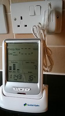 Scottish Hydro Cc128 Electricity Smart Meter Energy Usage Meter Energy Monitor