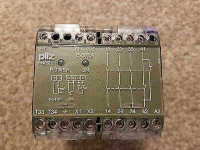 Pilz Pnoz 2 110 Volt Safety Relay