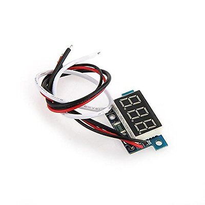 Mini digital ammeter meters Panel 0 -1A current display LED blue PK