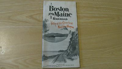 1903 Boston And Maine Railroad Valley Of Connecticut Northern Vermont 55 Pg Rare