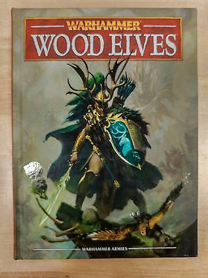 NICE Wood Elves Hardcover Army Book - Warhammer Fantasy 8E