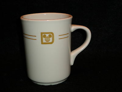 Mayer China DISNEY WORLD Tea COFFEE MUG Vintage 1970's Restaurant Ware Made USA
