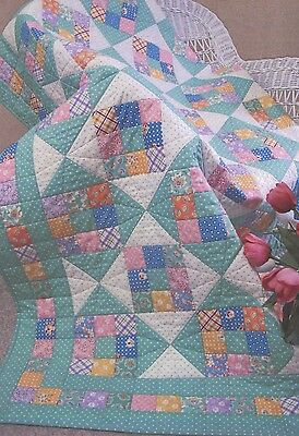SWEETIE PIE QUILT PATTERN, From Needlings, Inc. NEW