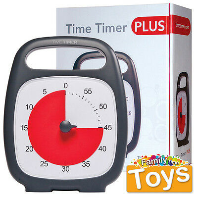 Time Timer Plus Autism Special Needs ADHD Anxiety Visual Aid Support Clock 5.5""