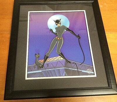 Limited Edition Cel Issued Classic Catwoman 392 Of 500 Certificate Warner Bros