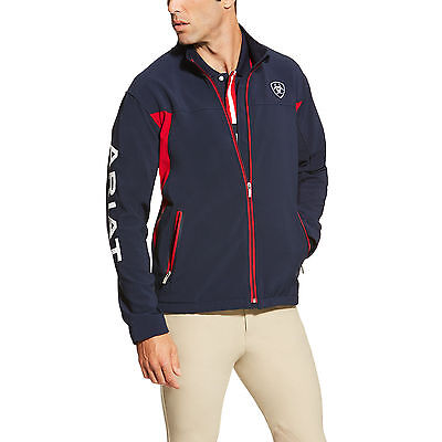 Ariat New Team Softshell Men's Jacket Horse Riding