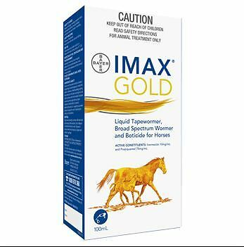 Bayer Imax Gold Wormer 100ml Horse Riding