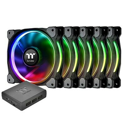 Thermaltake Riing 12 Plus RGB TT Premium Radiator Fan 5 Pack