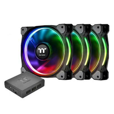 Thermaltake Riing Plus 12 RGB TT Premium Fan - 3 Pack
