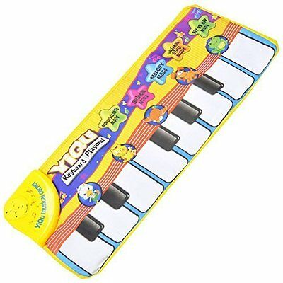 Piano Music Game Carpet Baby Crawling Mat Toys Blanket Kid Educational Toys F7O3