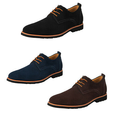 iLoveSIA Men's  Classic Casual Leather Suede Oxfords Shoes Fashion US Size 7-14