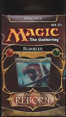 MTG Magic 1 x Alara Reborn RUMBLER  Intro Pack (Theme Deck) Sealed PLUS Bonus