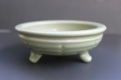Chinese Longquan Trigram Censer, Attractive Celadon Glaze, Probably Ming Dynasty