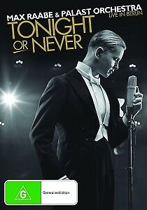 Max Raabe - Tonight or Never (DVD+CD)
