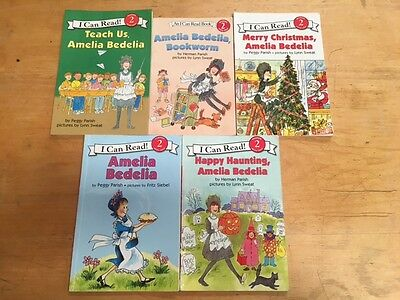 Lot Of 5 Amelia Bedelia Children's Books #5775 FREE SHIPPING