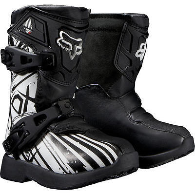 Fox Kids Comp 5K Undertow Dirt Bike MX Motocross Off Road Boots - 10 / EU 27.5