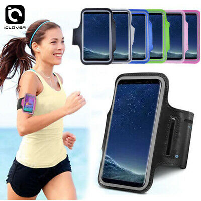 Galaxy S8/S8 Plus Sports Gym Jogging Running Armband Arm Holder Case for Samsung