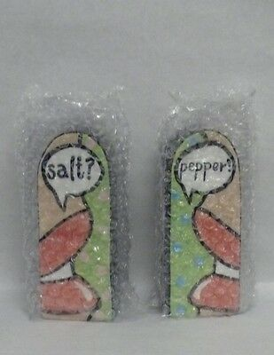 Romance Glass Salt and Pepper Shakers