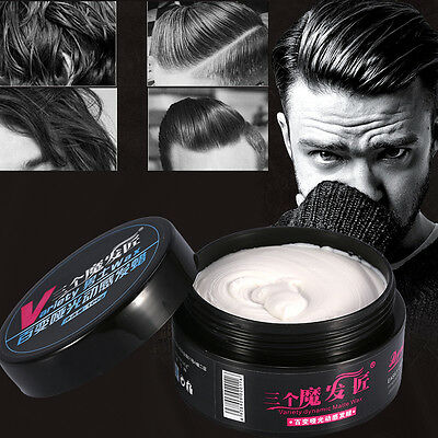 100g/Bottle Men Women Hairstyle Modeling Styling Wax Longlasting Hair Mud Clay