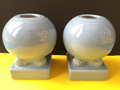 Vintage Fiesta Ware Bulb Candle Holder